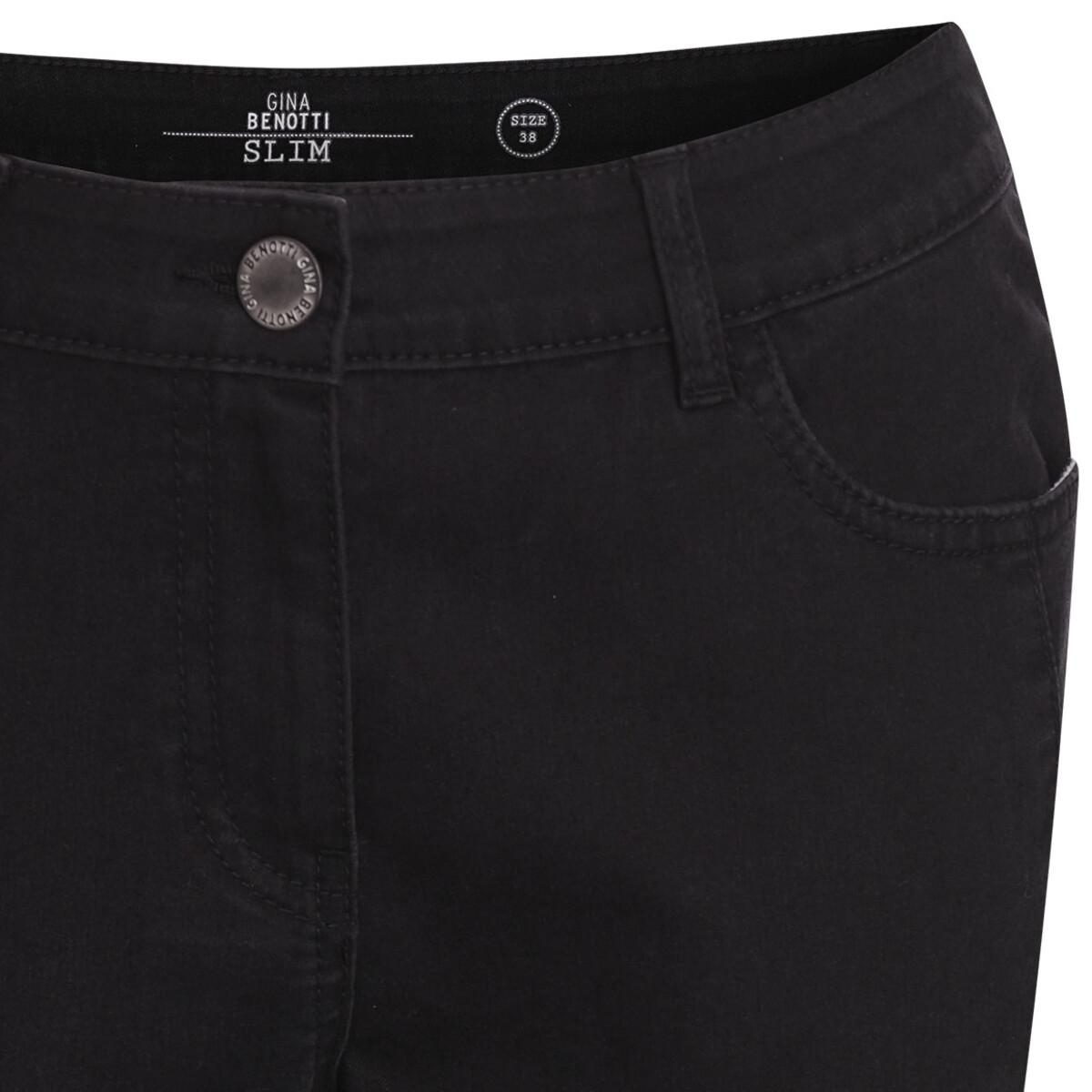 Bild 2 von 7/8 Damen Jeans mit Makremee-Spitze