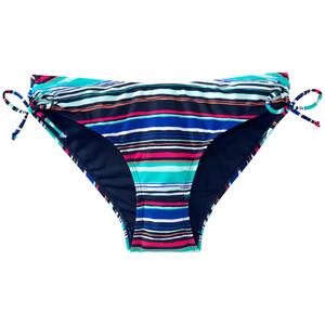 Damen Bikinislip mit bunten Streifen