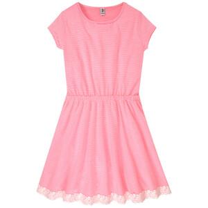 Mädchen Kleid mit Spitze