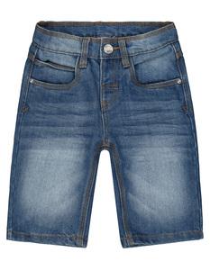 Jungen Jeansshorts im Stone-Washed Look
