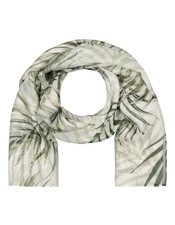 Damen Schal mit floralem Muster