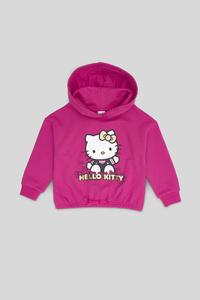 C&A Hello Kitty-Sweatshirt-Glanz-Effekt, Pink, Größe: 134