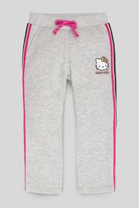 C&A Hello Kitty-Jogginghose-Glanz-Effekt, Grau, Größe: 92