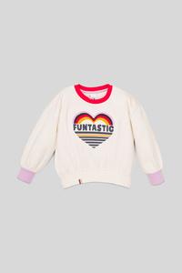 C&A Sweatshirt, Weiß, Größe: 140