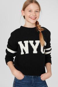 C&A Pullover, Schwarz, Größe: 182