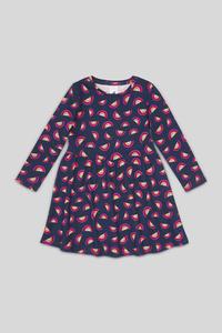C&A Kleid-Bio-Baumwolle, Blau, Größe: 140
