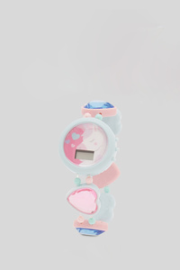 C&A Armbanduhr-Glanz-Effekt, Türkis, Größe: 1 size
