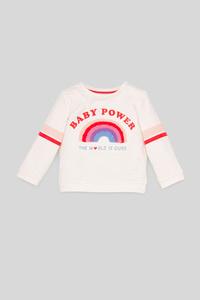 C&A Baby-Sweatshirt, Weiß, Größe: 98