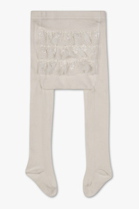 C&A Baby-Strumpfhose, Weiß, Größe: 80/86
