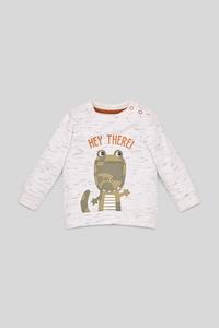 C&A Baby-Sweatshirt, Weiß, Größe: 86