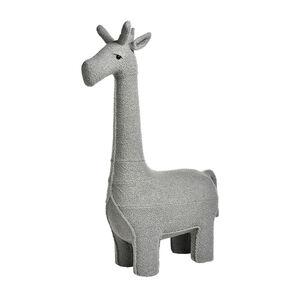 Hocker Giraffe, 75x35x128cm, hellgrau