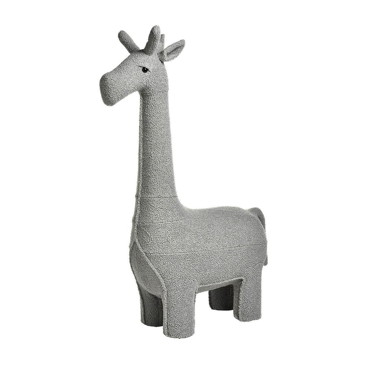 Bild 1 von Hocker Giraffe, 75x35x128cm, hellgrau