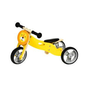 Lauf-/Dreirad Löwe, 65x36x36, gelb