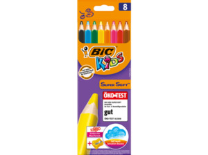 BIC Kids Super Soft Buntstifte