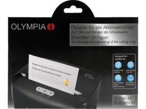 OLYMPIA Ölpapier Aktenvernichter Pflegeprodukt