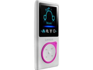 LENCO Xemio 668 MP3 Player 4 GB in Pink