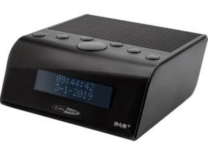 CALIBER HCG011DAB UHRENRADIO DAB+/FM DAB+ Radio in Schwarz