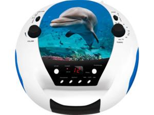 BIGBEN CD52USB/MP3 Dolphin Radiorecorder in mehrfarbig