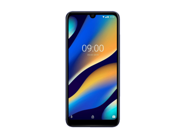 WIKO VIEW3 Lite Smartphone - 32 GB - Anthracite Blue