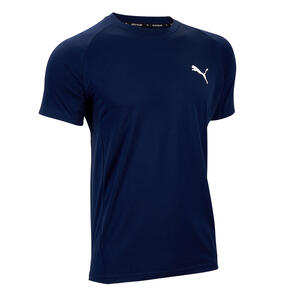 PUMA T-Shirt Herren marineblau
