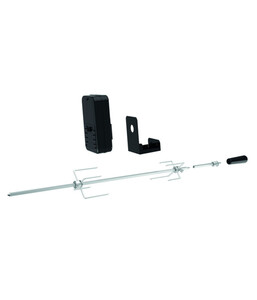 tepro Universal Grillspieß-Set für Batteriebetrieb