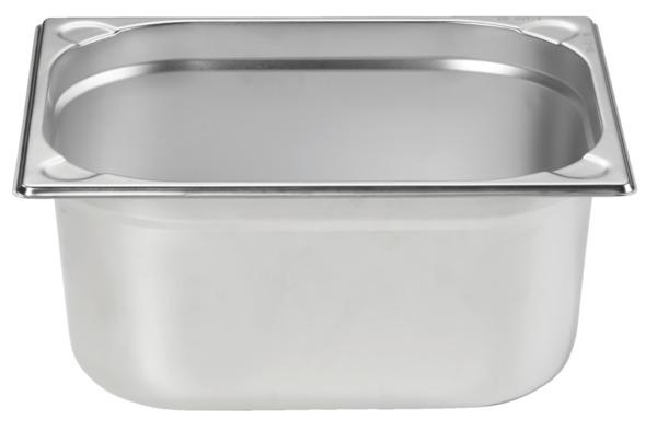 METRO Professional Behälter, GN, Edelstahl 1/2, 150 mm, 14/1