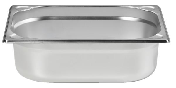 METRO Professional Behälter, GN, Edelstahl 1/2, 100 mm, 14/1