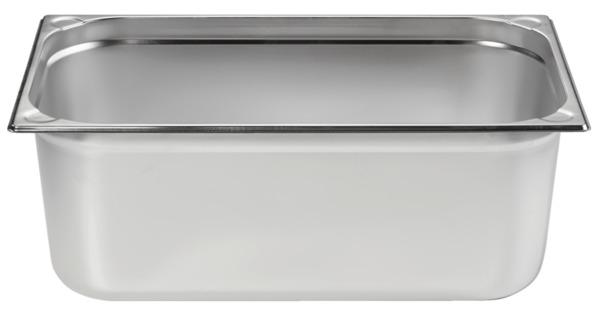 METRO Professional Behälter, GN, Edelstahl 1/1, 200 mm, 14/1