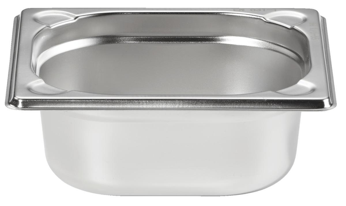 Bild 1 von METRO Professional Behälter, GN, Edelstahl 1/6, 65 mm, 14/1