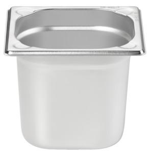 METRO Professional Behälter, GN, Edelstahl 1/6, 150 mm, 14/1