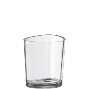 Leonardo Windlicht Orgnic Glas 17 cm
