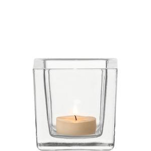 Leonardo Tischlicht Cube Glas - 8 x 8 x 8 cm