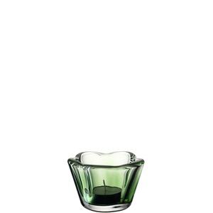 Leonardo Tischlicht Casolare Glas Grün  6 cm x Ø 9 cm