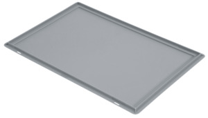 METRO Professional Eurobehälter-Deckel Grau - 60 x 40 cm