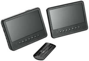REFLEXION  Kopfstützen-DVD-Player mit 2 Monitoren