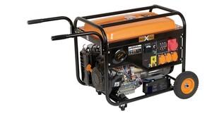 Cross Tools Benzin - Stromerzeuger CPG 5500 EV