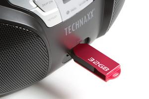Technaxx Bluetooth-Boombox BT-X38, schwarz