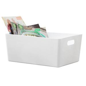 Toptex Universelle Sichtlagerbox, ca. 35 x 26 x 15 cm - Weiß