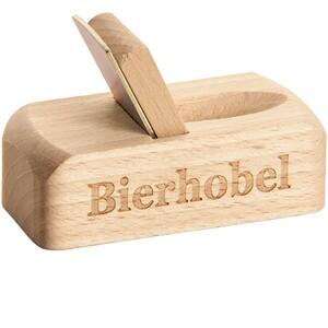 "Spruchreif Flaschenöffner Hobel ""Bierhobel"""