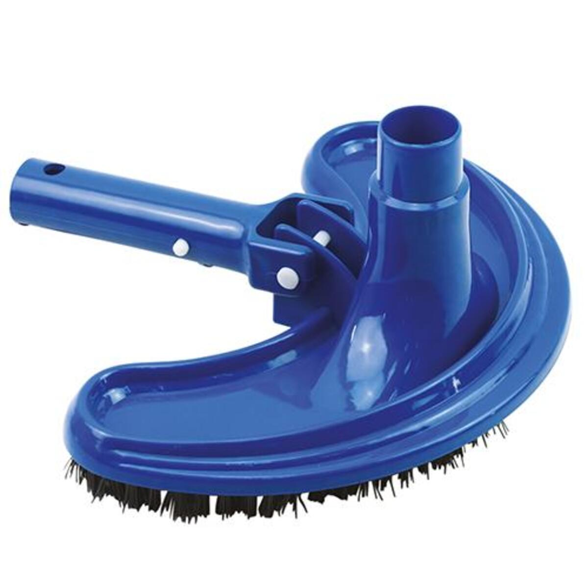 Bild 1 von Mauk Reinigungs- Saug- Aufsatz Bodendüse Ø 38mm + Mauk Pool Hand Schrubber Bürste mit Handriff