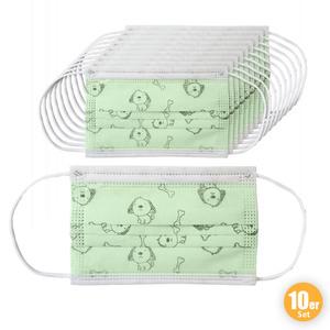 Ahlekang Kindermaske 10er Pack grün