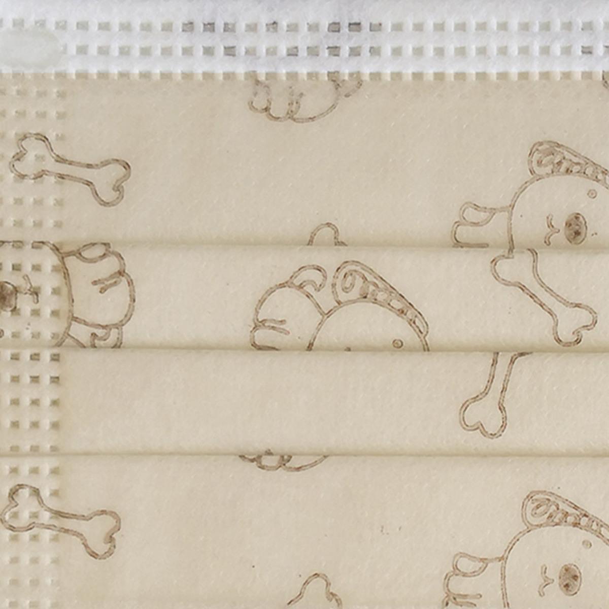 Bild 3 von Ahlekang Kindermaske 10er Pack beige