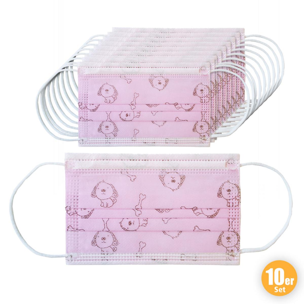 Bild 1 von Ahlekang Kindermaske 10er Pack rosa