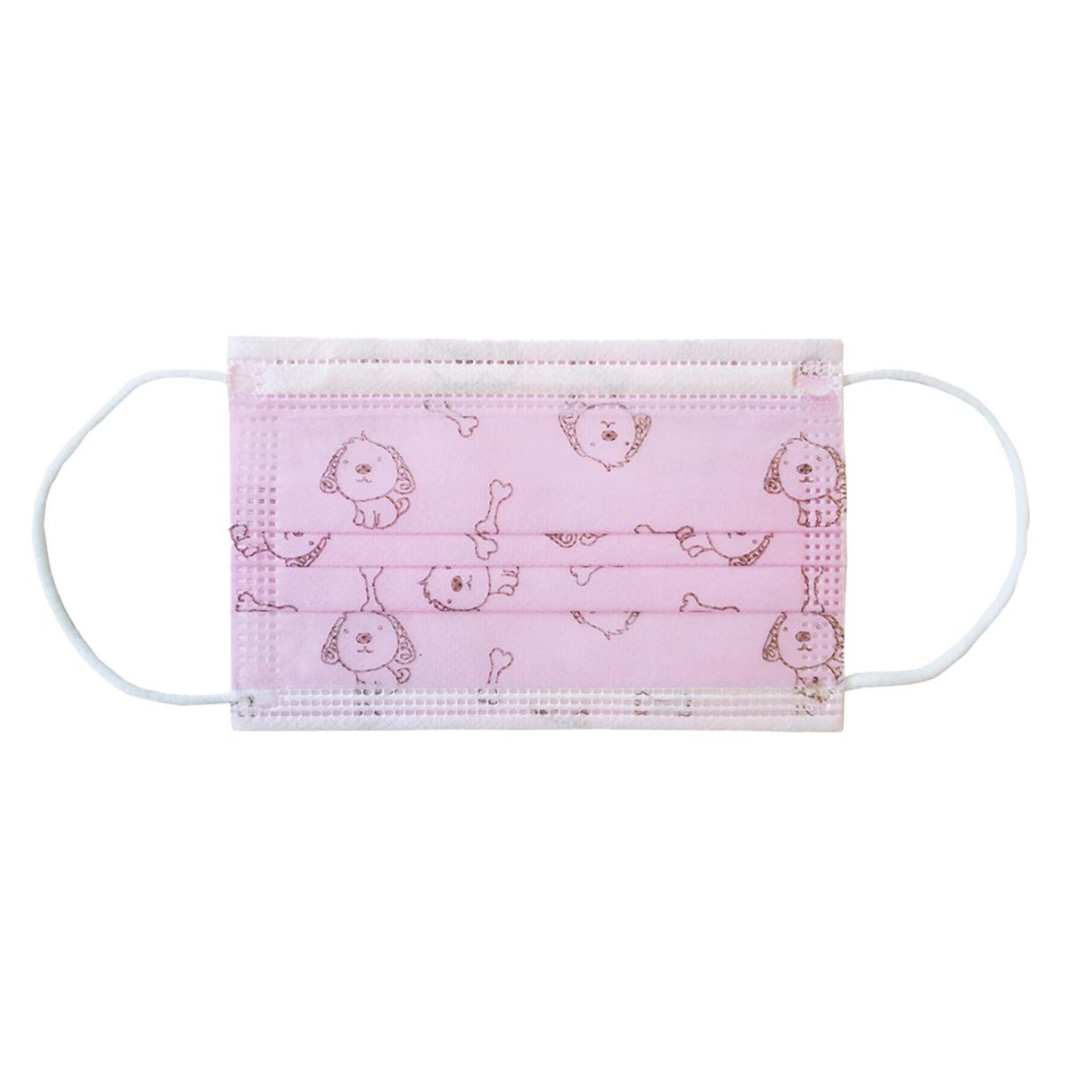 Bild 2 von Ahlekang Kindermaske 10er Pack rosa