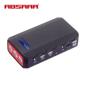 Jump Starter MJS 950 mobile Starthilfe für Benzin- und Dieselmotoren (4.000 bzw. 3.000 ccm), Schnellladung und geringe Selbstentladung, 5V/2A USB Ausgang