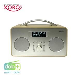 """DAB+-Radio DAB 240 • 2,8""""-LCD-Display • Weckfunktion, Einschlaftimer • Aux-Anschluss • Batterie- oder Netzbetrieb"""