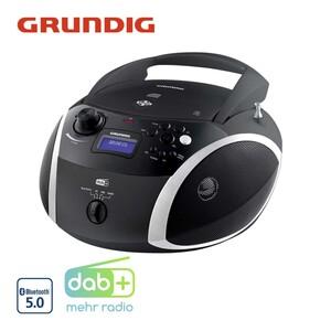 Radio GRB 4000 BT DAB+ • CD-/MP3-Player • PLL-FM-Radio • USB-/Aux-Anschluss • Netz- und Batteriebetrieb