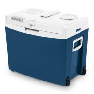 Mobicool MT35W thermoelektrische Kühlbox 34L 12V / 240V blau mit Rollen