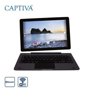 Pad 10 Tablet 2-in-1 mit Tastatur · Quad-Core-Prozessor Cortey A53 (bis zu 1,3 GHz) · 2 Kameras (2 MP/5 MP) · 2-GB-RAM, 16 GB Speicher · microSD™-Slot bis zu 32 GB · Android™ 8.1 · Bildschi