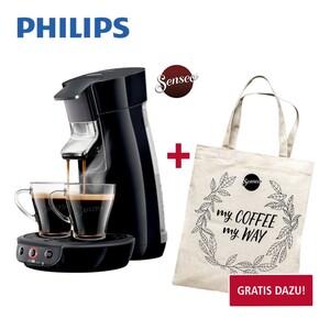 Kaffee-Padautomat Original Eco HD 6552/35 · für 1 - 2 Tassen/Becher in weniger als 1 min · Crema-Plus-Technologie für eine feinporige Crema